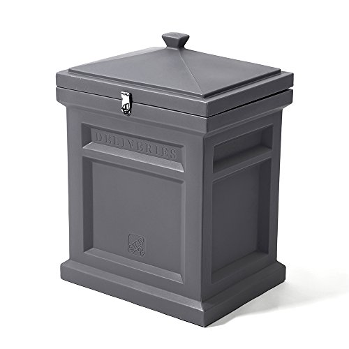 (Step2 Deluxe Package Delivery Box, Manor Gray)