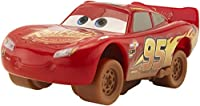 Disney Pixar Cars 3 Crazy 8 Crashers Lightning McQueen Vehicle, 1:55 Scale
