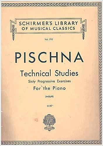 pischna 60 progressive exercises