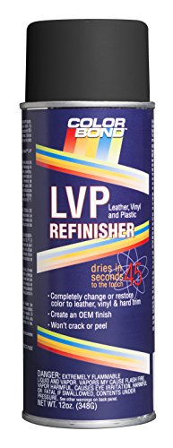 (Colorbond 349 Mercedes Anthracite LVP Leather, Vinyl & Hard Plastic Refinisher Spray Paint - 12 oz.)