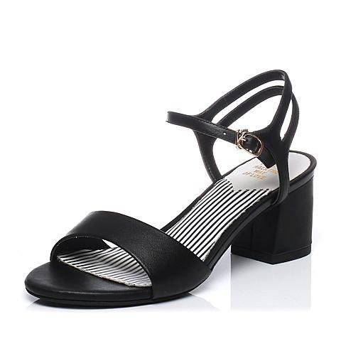 Crudo Femenino Tacón SHOESHAOGE De Y Ranurado Zapatos con Y 84 Sencillo Mujeres Sandalias Las UK1 EU33 7qqFwx0T