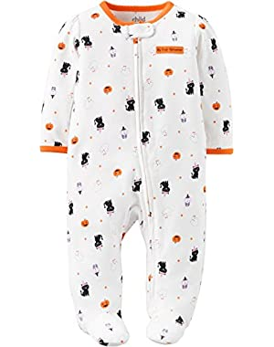 Baby Girl Halloween Sleep N Play First Halloween 3/6 Months