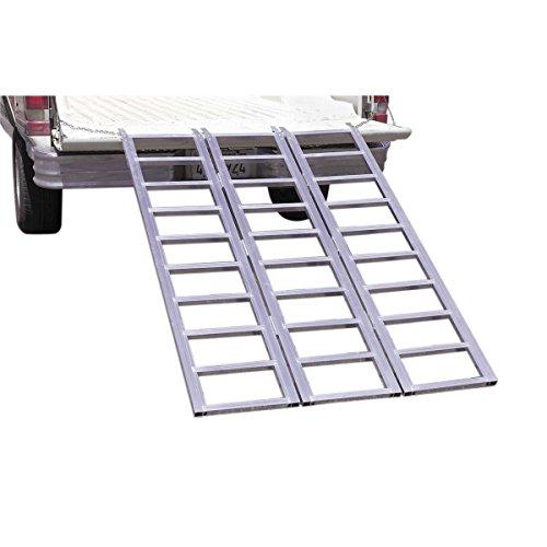 1500 lb. Capacity Tri-Fold Aluminum Loading Ramp -USATM