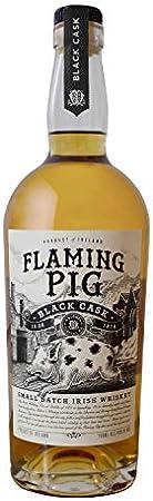 Flaming Big Flaming Pig Black Cask Small Batch Irish Whiskey 40% Vol. 0,7L - 700 ml