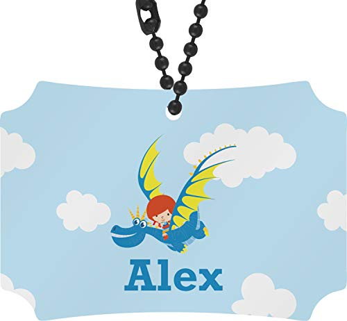 YouCustomizeIt Flying a Dragon Rear View Mirror Ornament (Personalized)