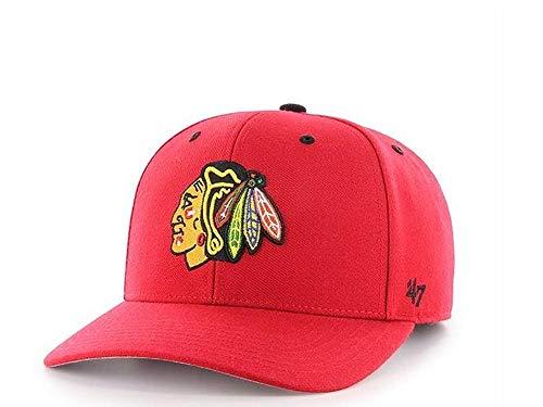 nbsp;– los nbsp;– Gorra 47Brand nbsp;Rojo Blackhawks de Strapback nbsp;NHL Chicago wqnUAHgO