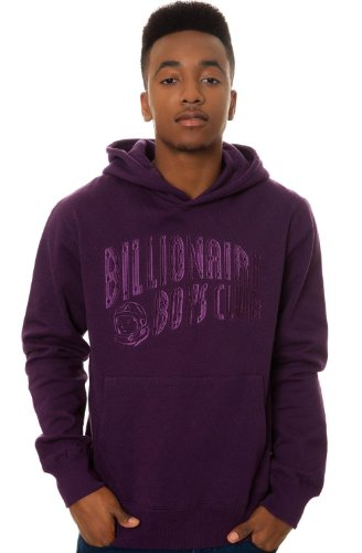 Billionaire Boys Club Men's Quilted Pullover Large Purple