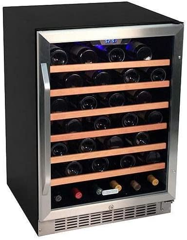 EdgeStar-53-Bottle-Built-In-Wine-Cooler---Stainless-Steel/Black