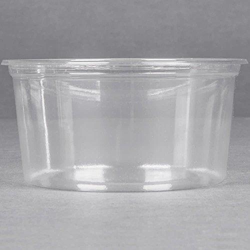 a676c9095610 Amazon.com: BWS 12 oz Ultra Clear Plastic Round Craft Food Meal Prep ...
