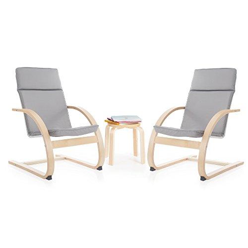 Guidecraft Kiddie Rocker Chair Set, Gray - Guidecraft Couch