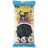 Hama -205-18 - Midi Sachet 6000 Perles - Loisir Créatif - Noir