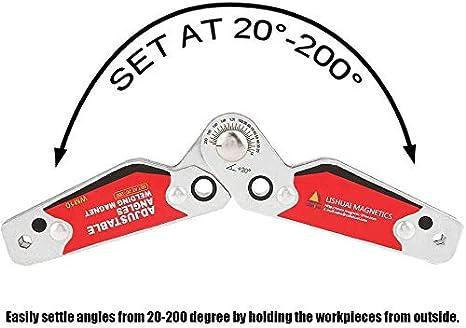 Soporte De Soldadura ángulos Ajustables 20 200 Imán De Soldadura Soporte De Soldadura Magnético Soldador Accesorios Amazon Es Bricolaje Y Herramientas