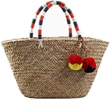 57288a9ca1de Shopping Reds - $25 to $50 - Straw - Handbags & Wallets - Women ...
