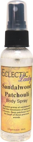 Sandalwood Patchouli Body Spray by Eclectic Lady