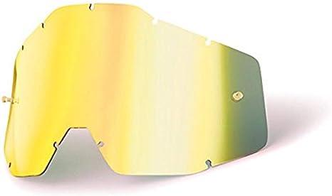51002-009-02 100/% Gold Mirror Racecraft//Accuri Replacement Lens
