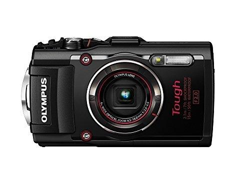 Olympus TG-4 16 MP Waterproof Digital Camera with 3-Inch LCD (Black) (Olympus Camera 4 3)