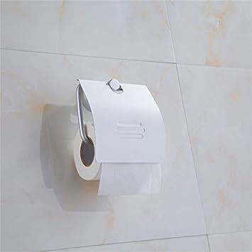 MDRW-Toilettenpapier Halter Aluminium Draht Zeichnung Rohr WC ...