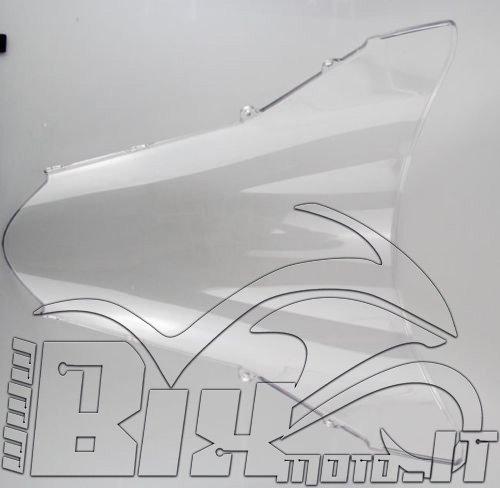 CUPOLINO PLEXIGLASS x HONDA VFR 800 2002 2012 TRASPARENTE DOPPIA BOLLA PARABEZZA