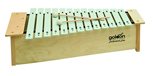 골든 10110 16 톤 알토 Metallophone/Goldon 10110 16 Tones Alto..
