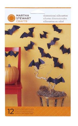 Martha Stewart Crafts Dimensional Silhouette, Bat
