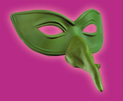 [Disguise Costumes Witch Nose Eye Mask, Adult] (Werewolf Adult Vinyl Chin Strap Mask)