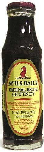 Mrs Balls Original Chutney (2 x 470g Pack) by Mrs H.S. Balls