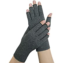 Arthritis Gloves Women and Men,Wisolt Therapy Compression Gloves Hand Arthritis Joint Pain Relief Health Care Half-Finger Gloves