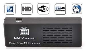 MK808B Bluetooth Mini PC Rockchip RK3066 Dual Core Cortex-A9 1.6GHz 1GB / 8GB Android 4.1.1 Google TV