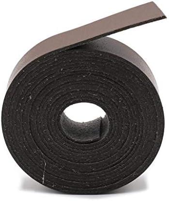 RROVE 5m Länge 1,5cm Breite Mikrofaser Lederband DIY Craft Gürtel Tasche Griffe Dekor Kaffee