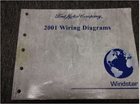 2001 ford wiring schematic 2001 ford windstar van wiring electrical diagrams service shop  2001 ford windstar van wiring