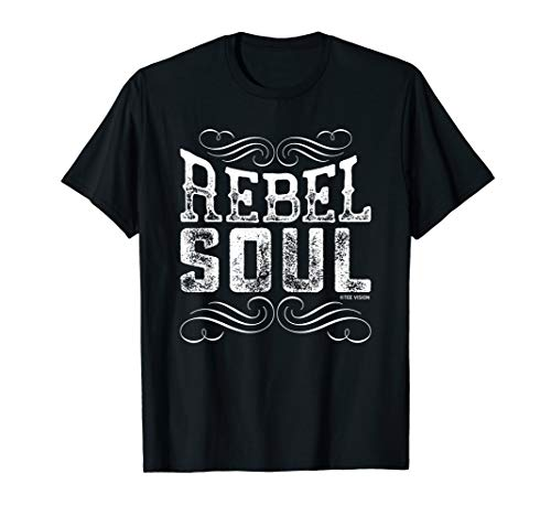 (Rebel Soul Sassy Southern Country Tee Vision T-Shirt)