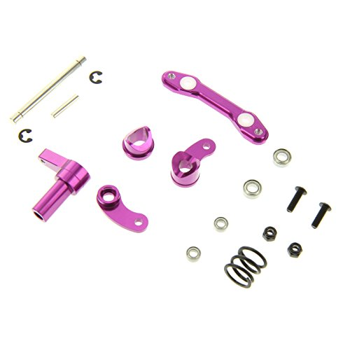 ering Assembly for 1:10 HPI XS Flux, Purple (Gpm Steering Assembly)