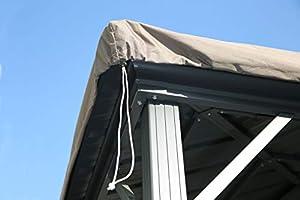 QUICK STAR - Funda Protectora Impermeable para Carpa de 3 x 3, 6 m ...