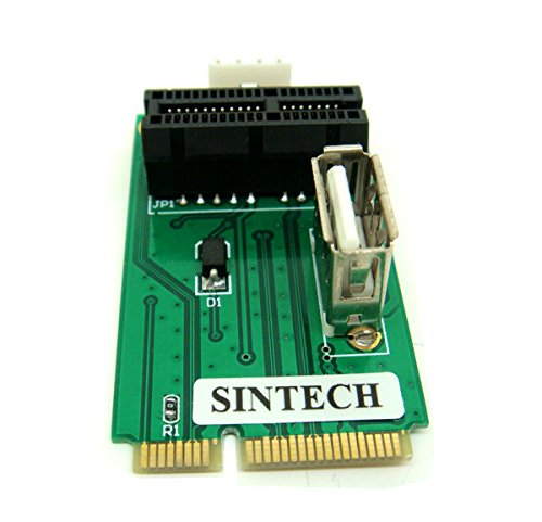 PCIe PCI Express 1X or USB Card to Mini PCI-E Adapter by Sintech (Image #2)