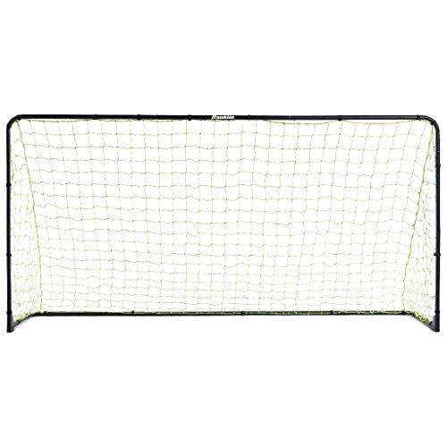Franklin Sports Premier Black Folding Steel Soccer Goal - 10 x 5 Foot