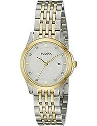 Bulova 98P148 14mm Two Tone Stainless Steel Watch Bracelet
