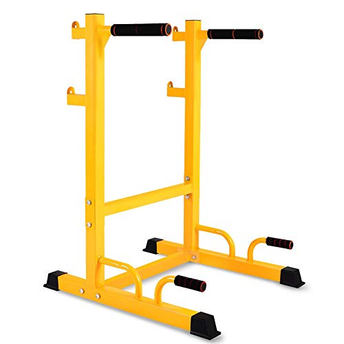 (Sviper-sport Power Tower Heavy Duty Dip Station Dipping Stand Full Pull Up Parallel Bar Bicep Triceps Home Gym Exercise Workout Dip Bar Fitness Workout Station Dip Stands Pull up )