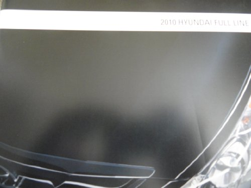 2010 Hyundai Genesis / Azera / Sonata / Elantra / Accent / Veracruz / Santa Fe / Tucson Sales Brochure (Hyundai Santa Fe For Sale By Owner)