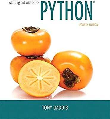 Starting Out With Python Plus MyLab Programming With Pearson