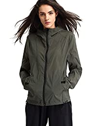 Escalier Women's Lightweight Waterproof Jacket Sun Protection Coat