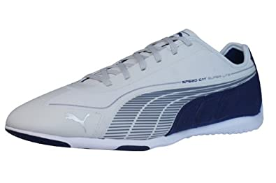 info pour 2572c d7cf7 Puma Speed Cat Super Lt Low Mens Trainers/Shoes - White ...