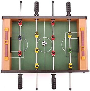 LiPengTaoShop Futbolín Mesa De Fútbol Máquina para Niños Mesa De Fútbol Mesa De Fútbol Regalo De Cumpleaños Jugar Al Fútbol Juguete Mini Juego De Mesa (Color : Green, Size : 51 *