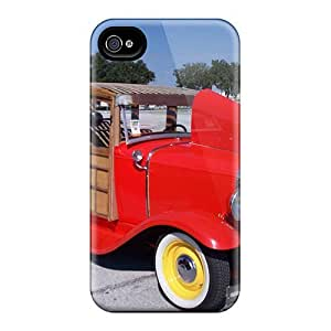 Hot Tpu Cover Case For Iphone/ 4/4s Case Cover Skin - Classic Ford Woody