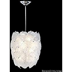 Eden Chandelier White