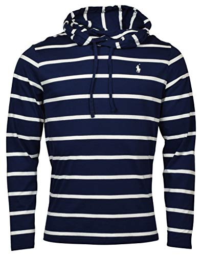 Polo Ralph Lauren Mens Striped Hooded T-Shirt
