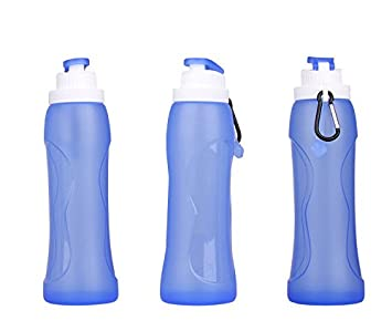Plegable silicona para botellas de agua – Sports bottles – Botella de
