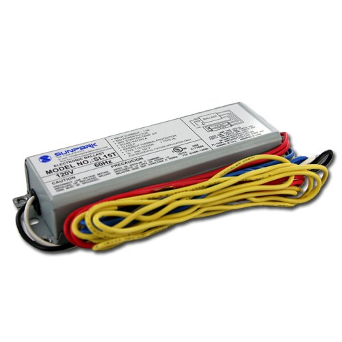 Sunpark SL15T electronic ballast for multiple CFL and linear fluorescent lamps by Sunpark