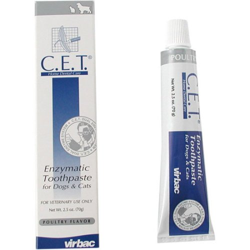 MFR BACKORDER 092215 CET Toothpaste for Dogs Cats, Flavor: Poultry by CET