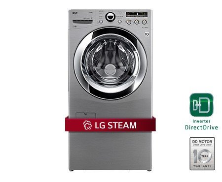 Lg Titan 29 Inch Graphite 5 2 Cu Ft Front Load Steam