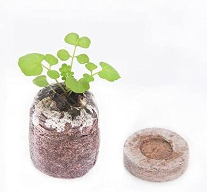 45 JENOR 5 pcs 35mm 10pcs 30mm Jiffy Peat Pellets Seed Starting Plugs Pallet Seedling Soil Block ORP